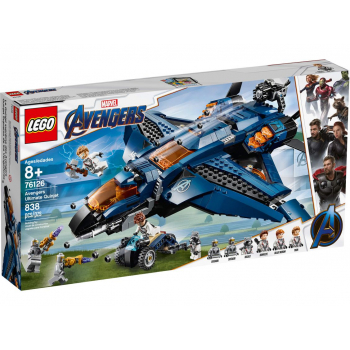 76126 Avengers Ultimate Quinjet