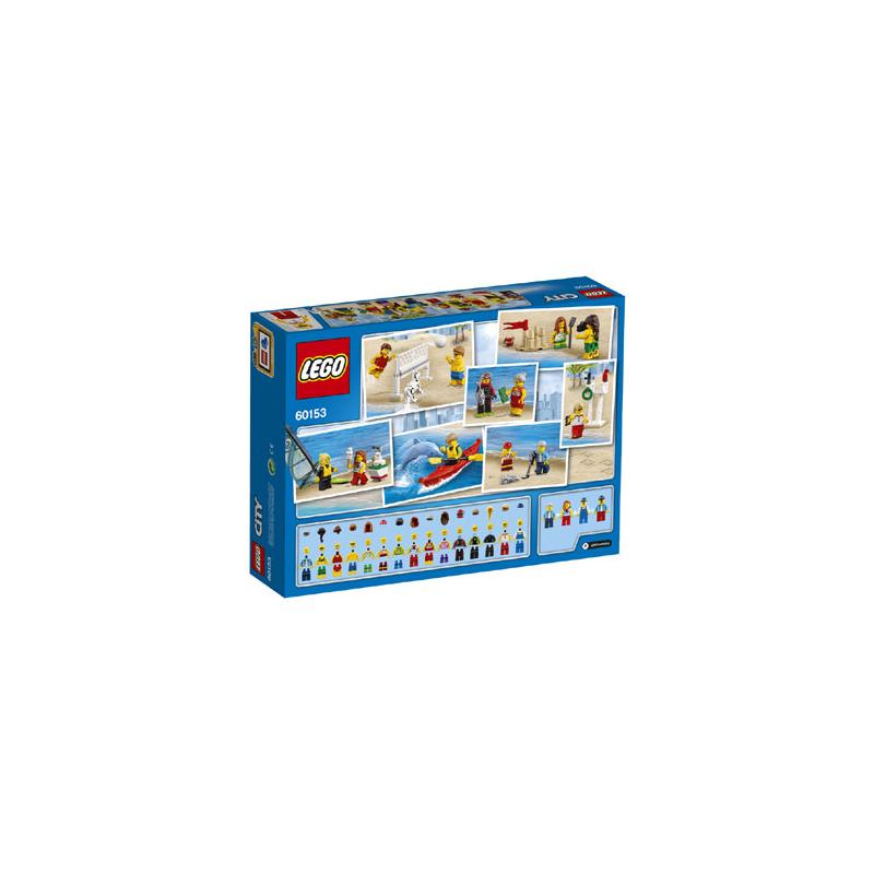 60153 Pack de Minifiguras: Diversión en la Playa