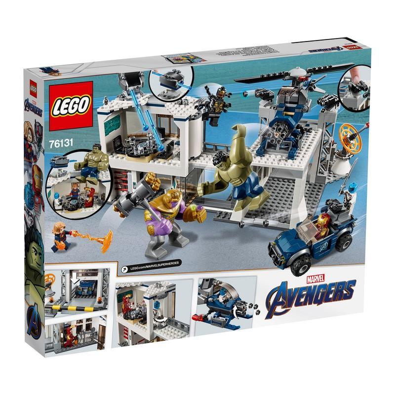 76131 Avengers Compound Battle