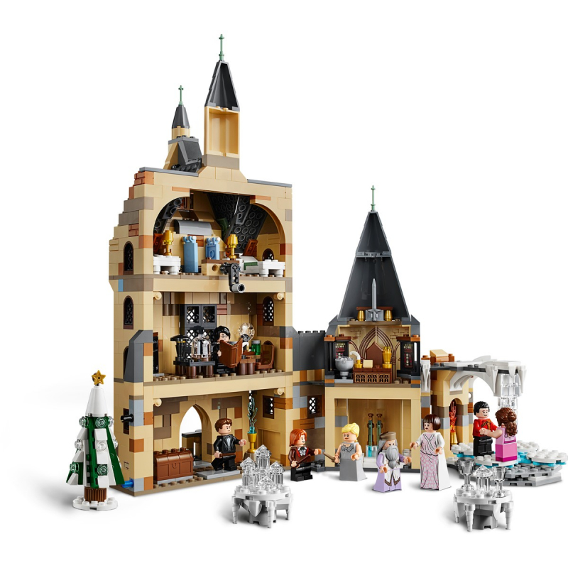 75948 Torre del Relpj de Hogwarts