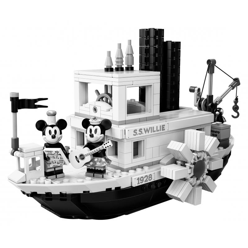 21317 El Barco de vapor de Willie