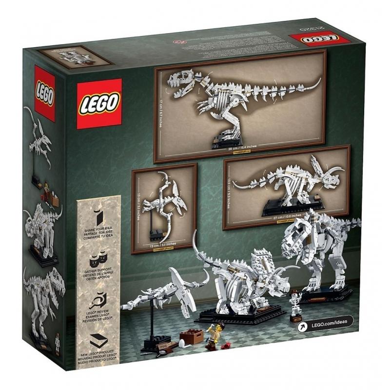 21320 Fósiles de Dinosaurios