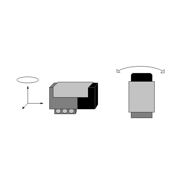 NGY1044  Sensor Giroscopio HiTechnic para NXT